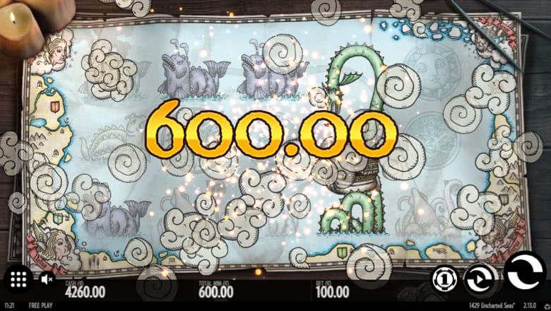 1492 Uncharted Seas Slot Big Win