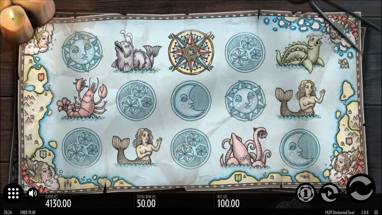 1492 Uncharted Seas Gameplay