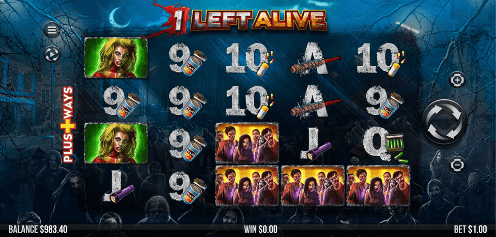 1 Left Alive Slots UK Game
