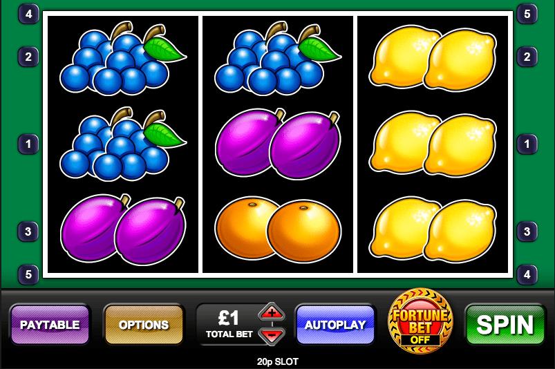 20p Slot Gameplay