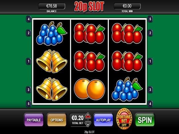 20p Slots Reels