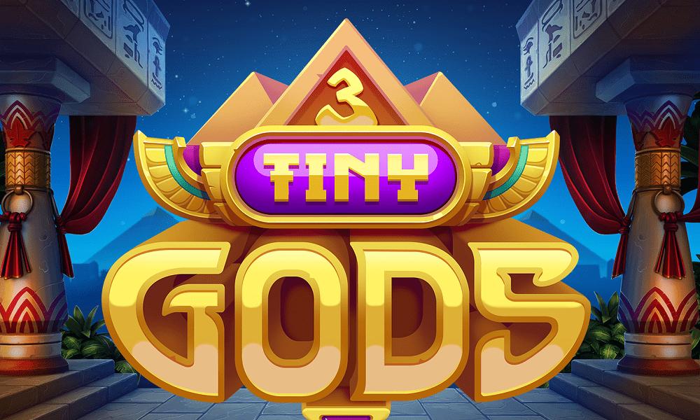 3 Tiny Gods Slot Logo Mega Reel