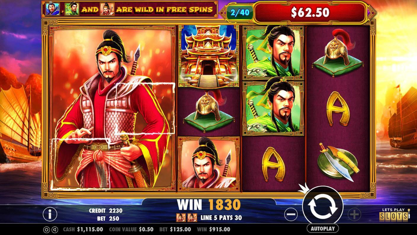 3 Kingdoms - Battle of Red Cliffs slot