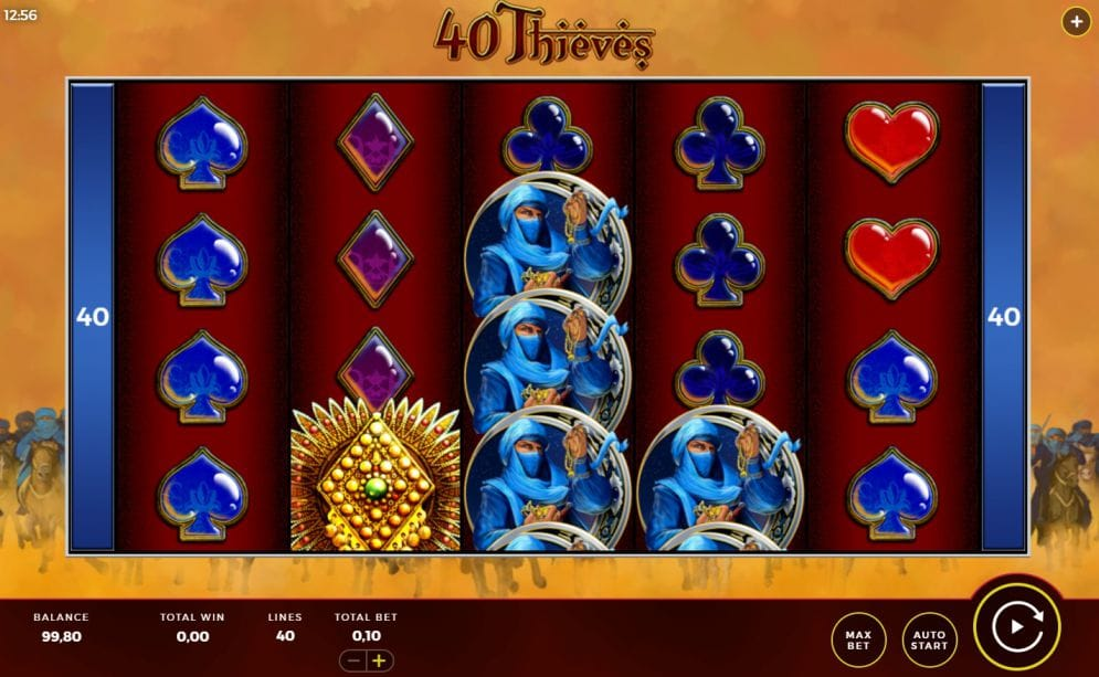 Forty Thieves Slot Mega Reel Reels