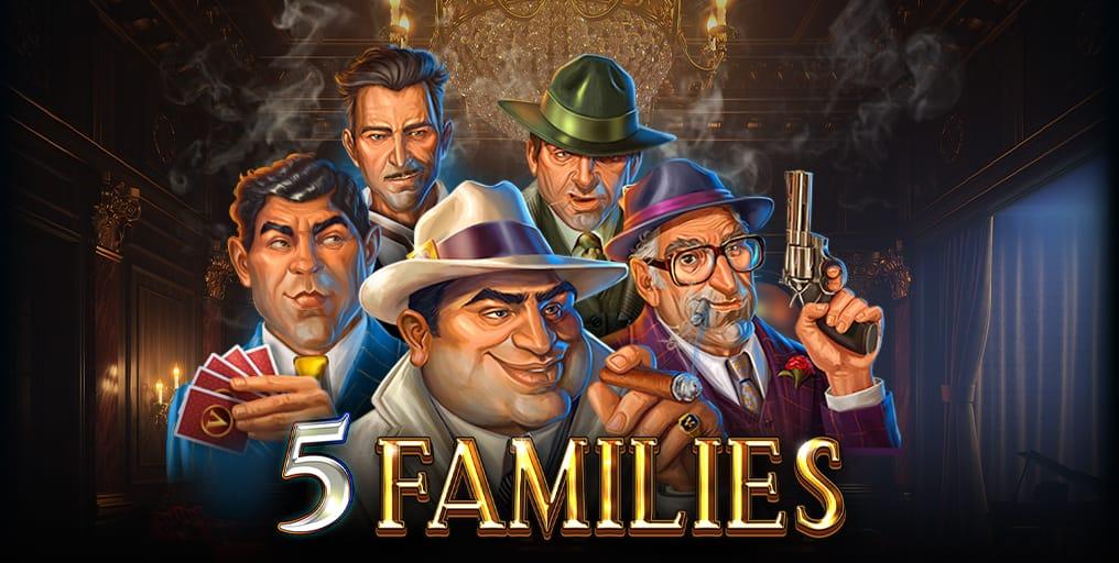 5 Families Slot Logo Mega Reel