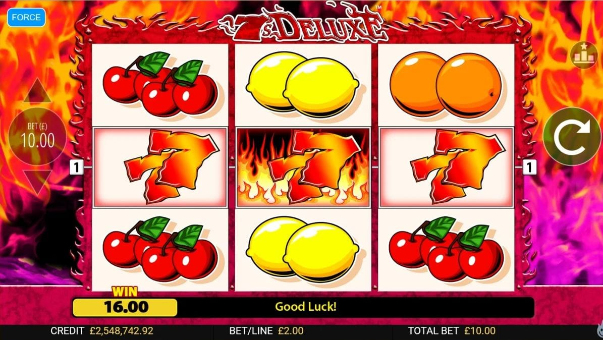 7s Deluxe Slot Game