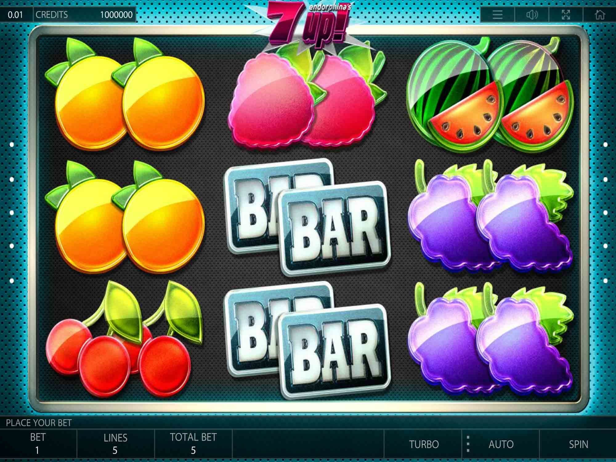 7-up slot machine gameplay