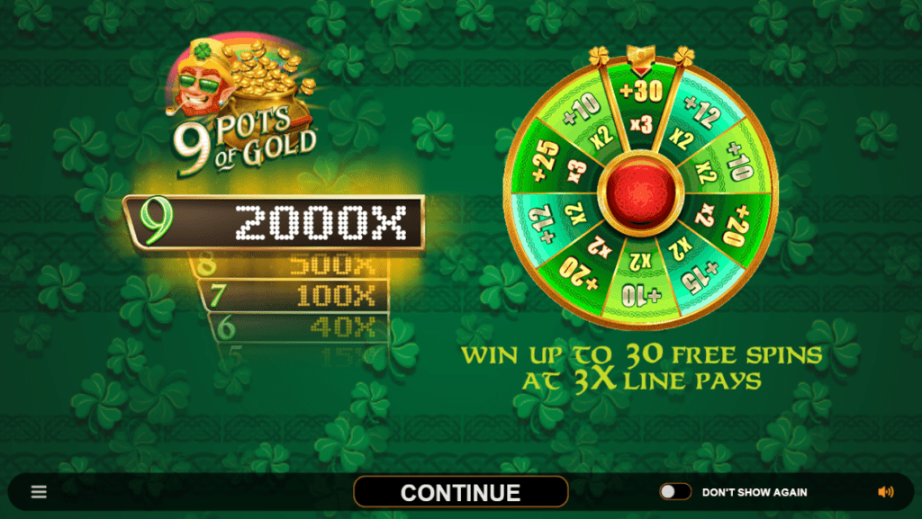 9 Pots of Gold Slots Game