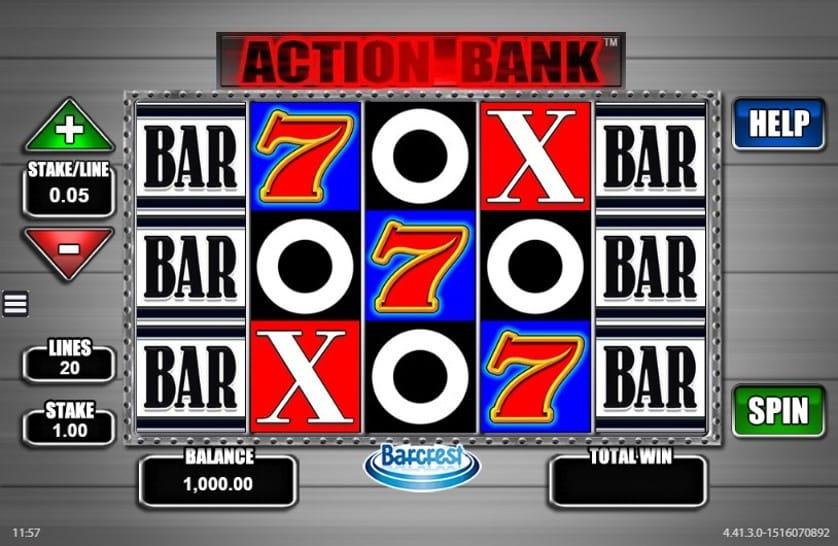 Action Bank Slots UK