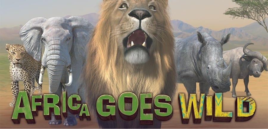 Africa Goes Wild Slots Mega Reel