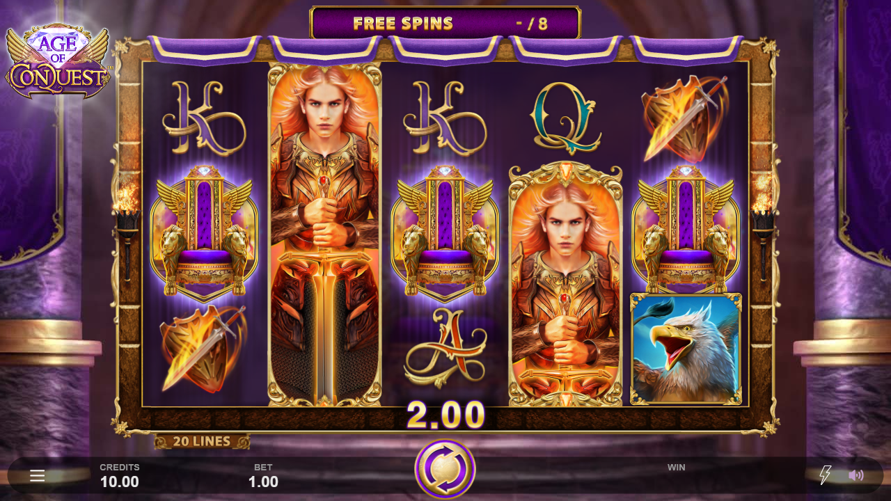 Age of Conquest Slots Online