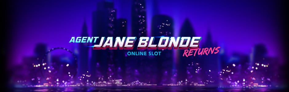 Agent Jane Blonde Returns Slots Mega Reel