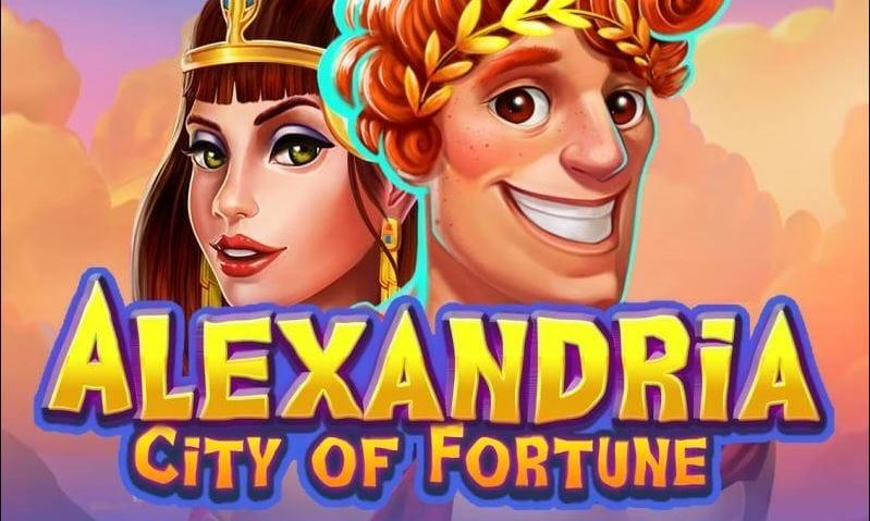 Alexandria City of Fortune Slot Logo Mega Reel