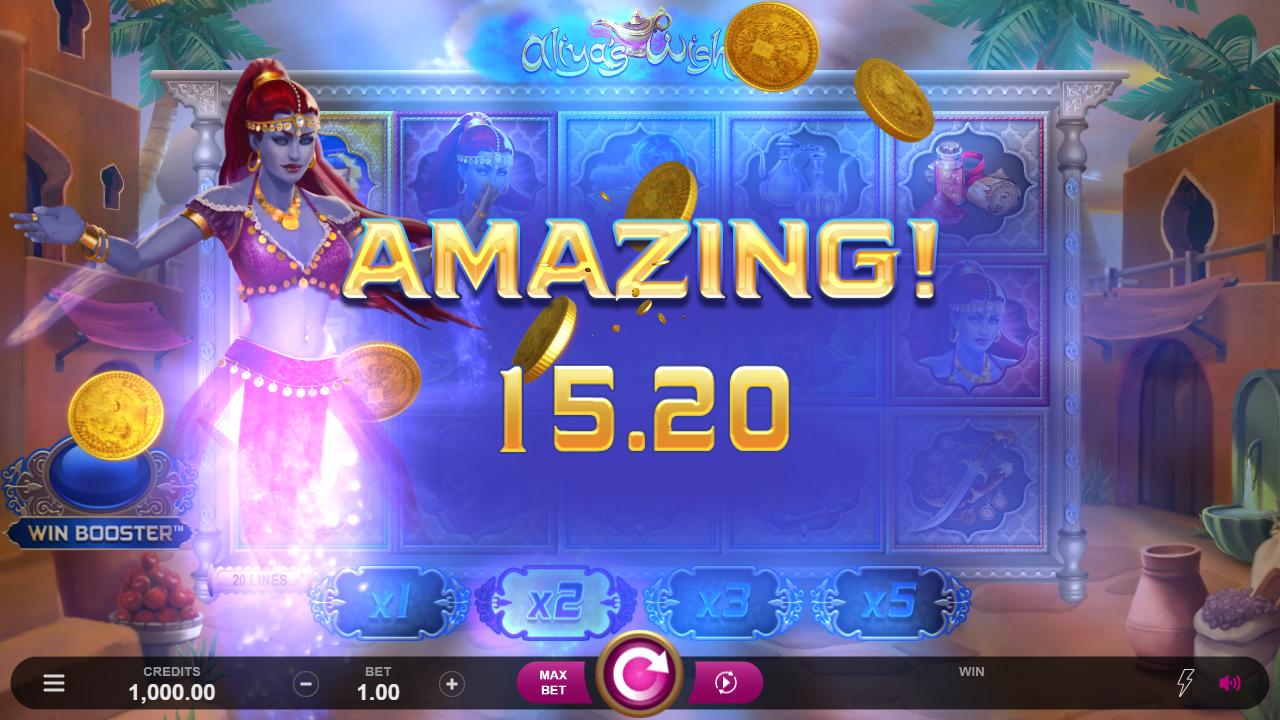 Aliya's Wishes Slots Online