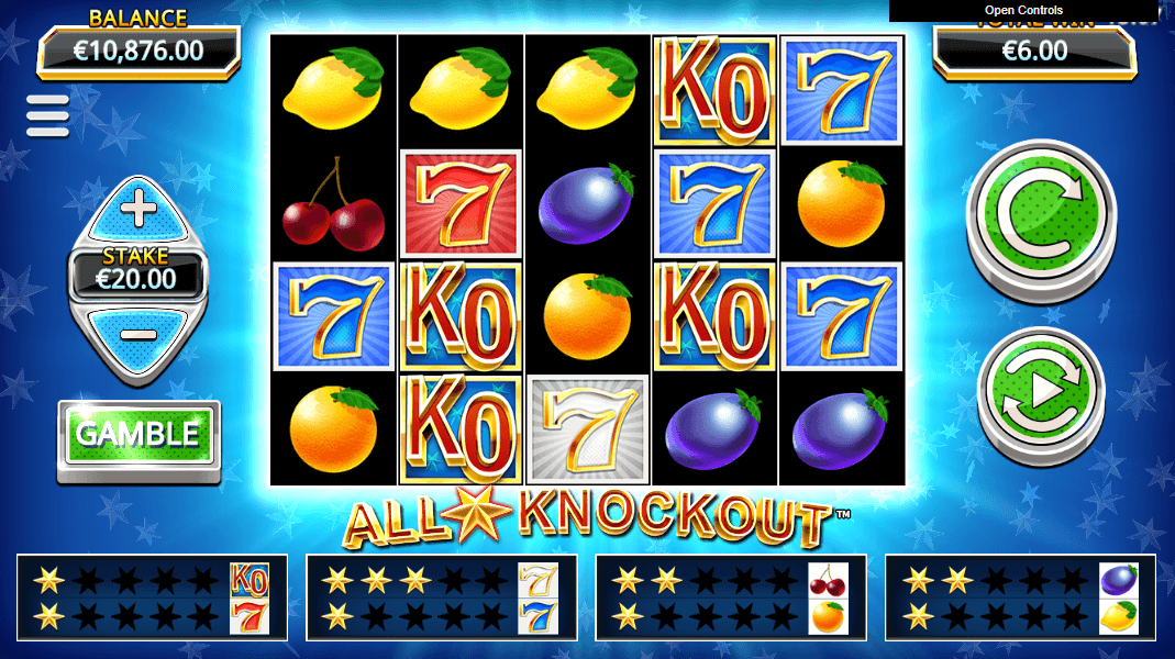 All Star Knockout Slot Game