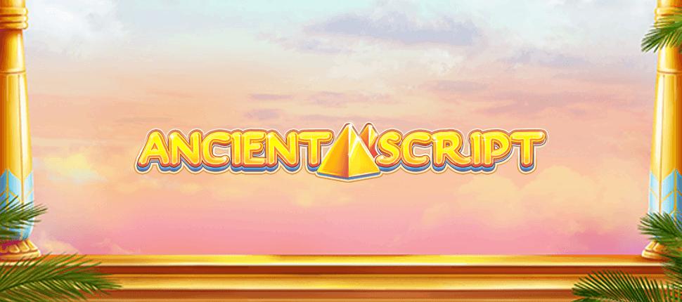 Ancient Script Slots Mega Reel