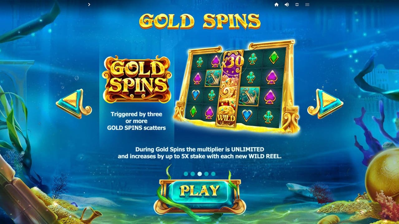 Atlantis Slot Free Spins