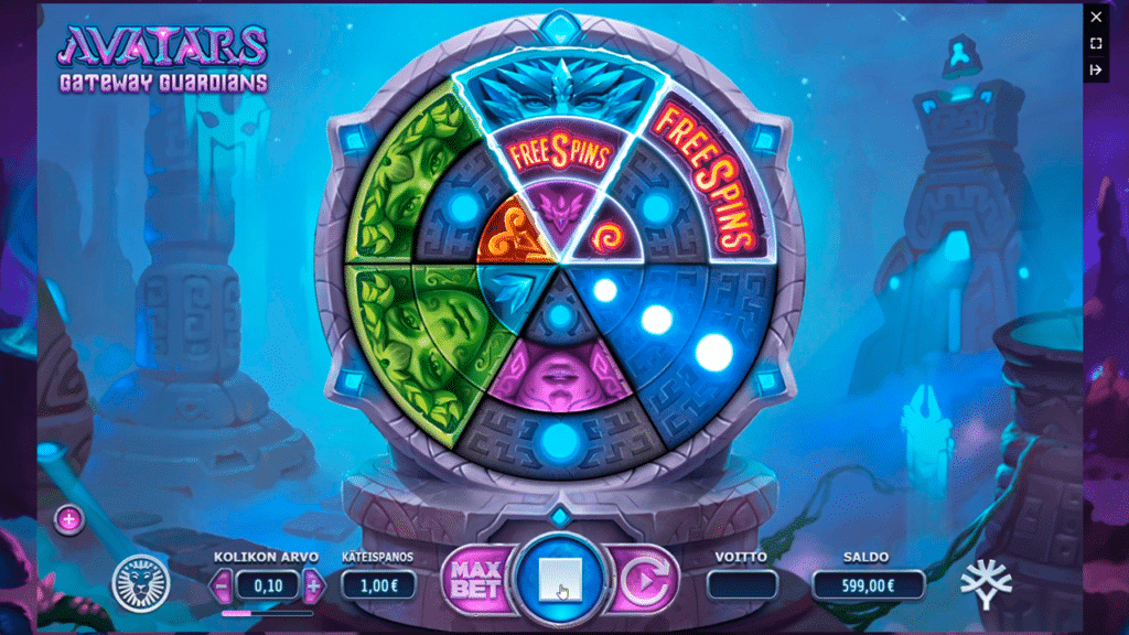 Avatars Gateway Guardians Slot Game