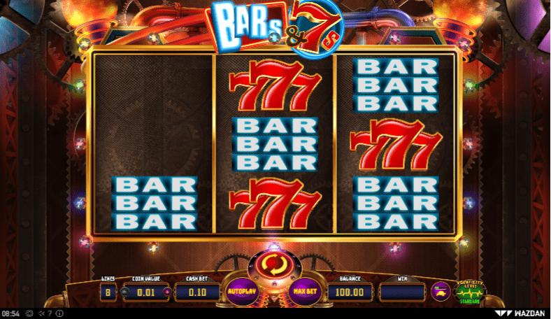 Bars & 7s Slots Gameplay