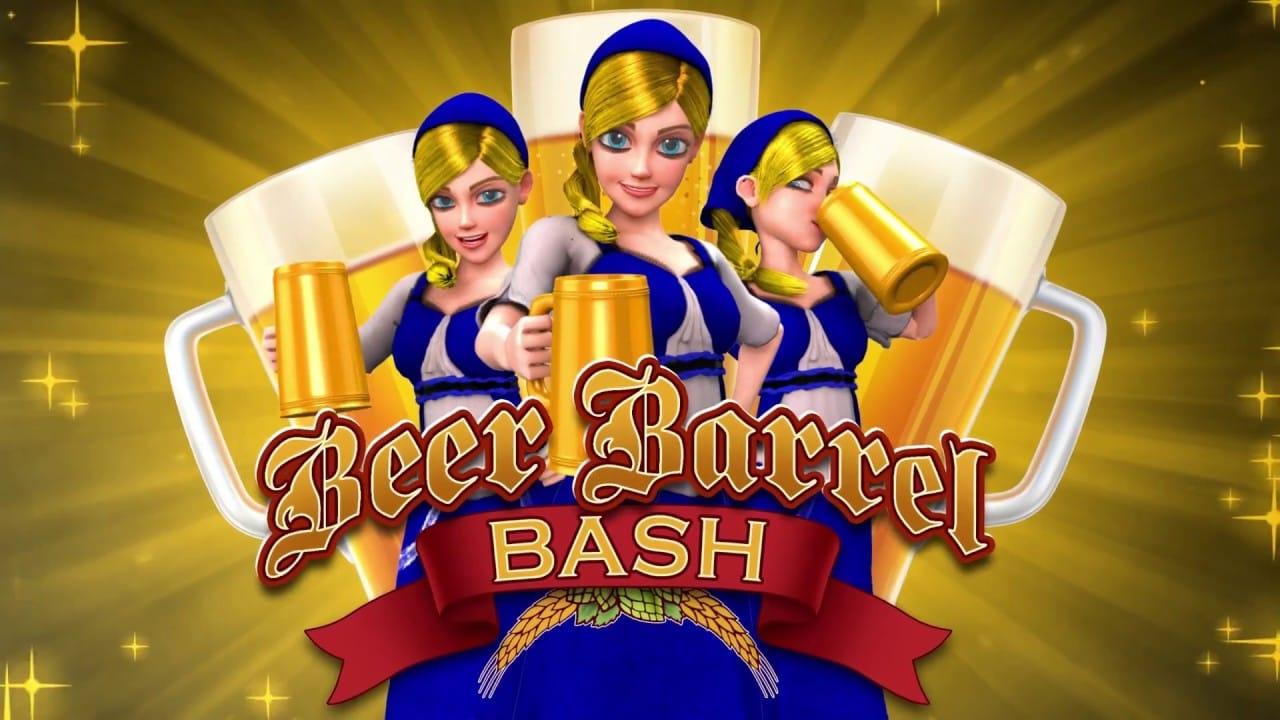 Beer Barrel Bash slot game logo
