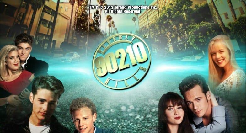Beverly Hills- 90210 Slot Header