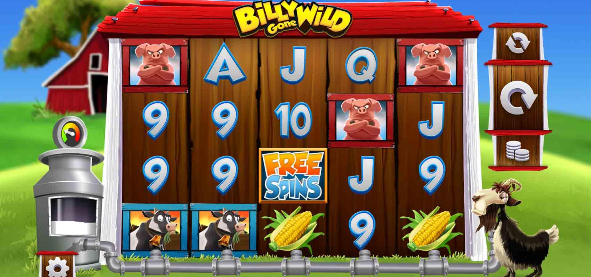 Billy Gone Wild Slots Game