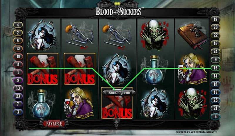 blood suckers gameplay