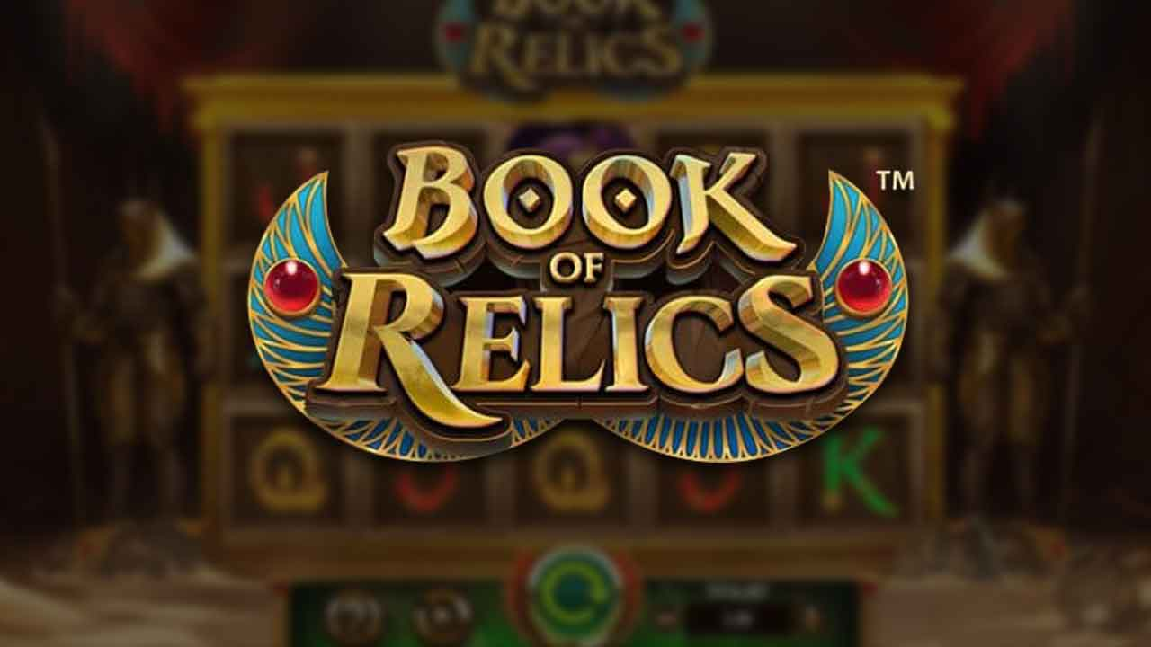 Book of Relics Slots Mega Reel
