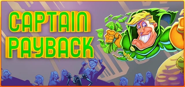 Captain Payback slot game front