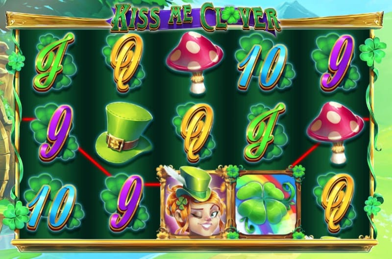 Kiss Me Clover Slot Gameplay