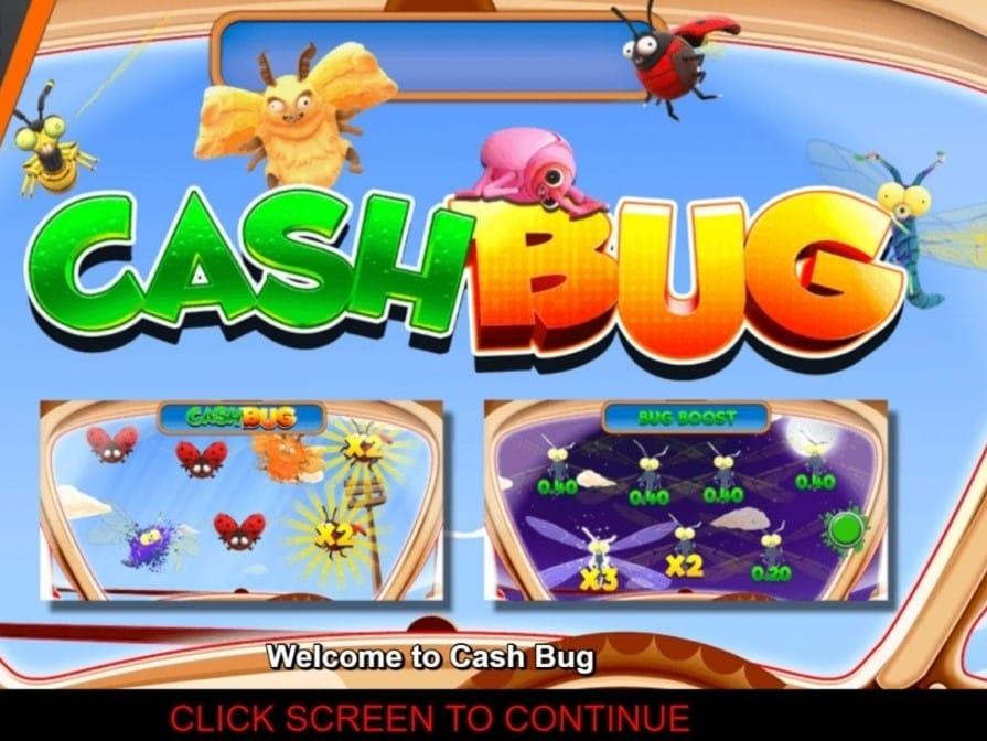 Cash Bug slots Mega Reel