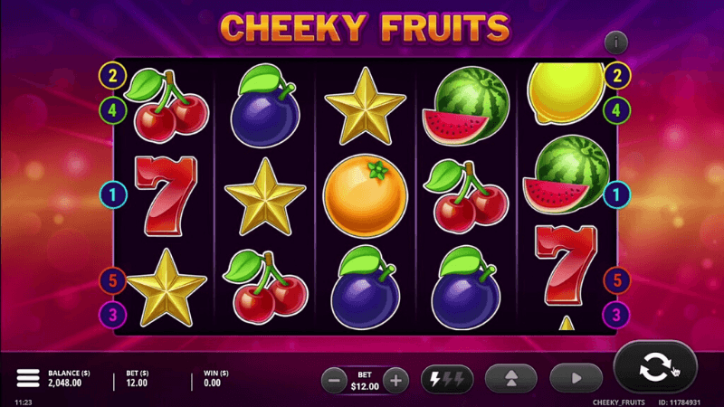 Cheeky Fruits Slots Online