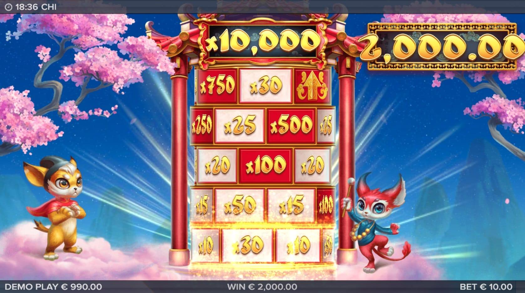 chi slots bonus features mega reel
