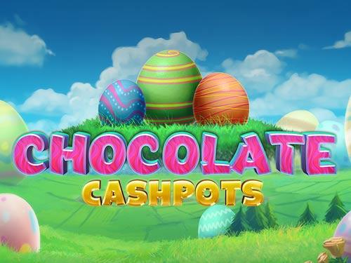 Chocolate Cash Pots Slot Logo Mega Reel