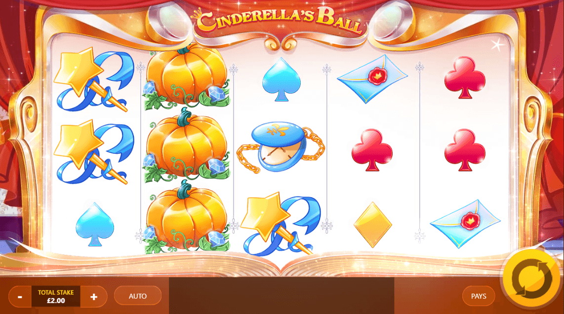 Cinderella's Ball Slots UK