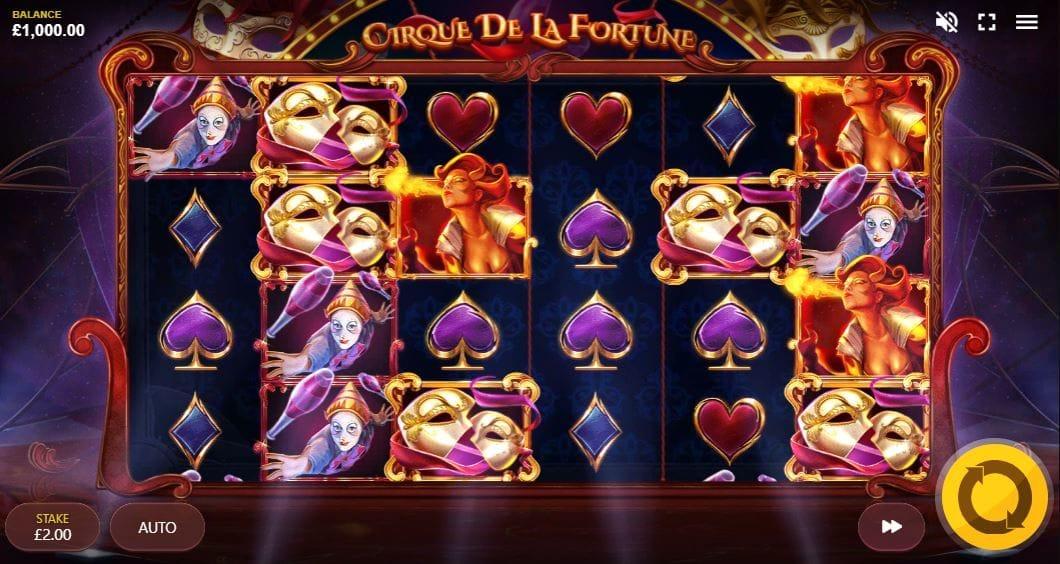 Cirque de la Fortunes Free Slots