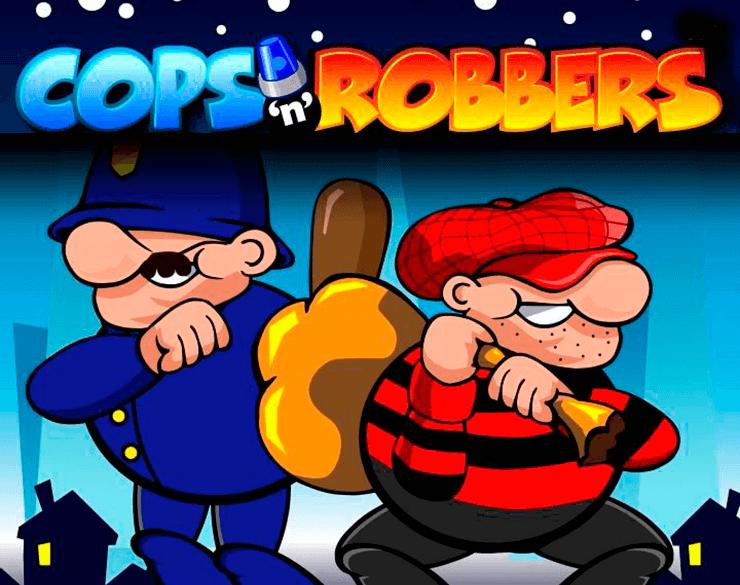 Cops and Robbers slots Mega Reel