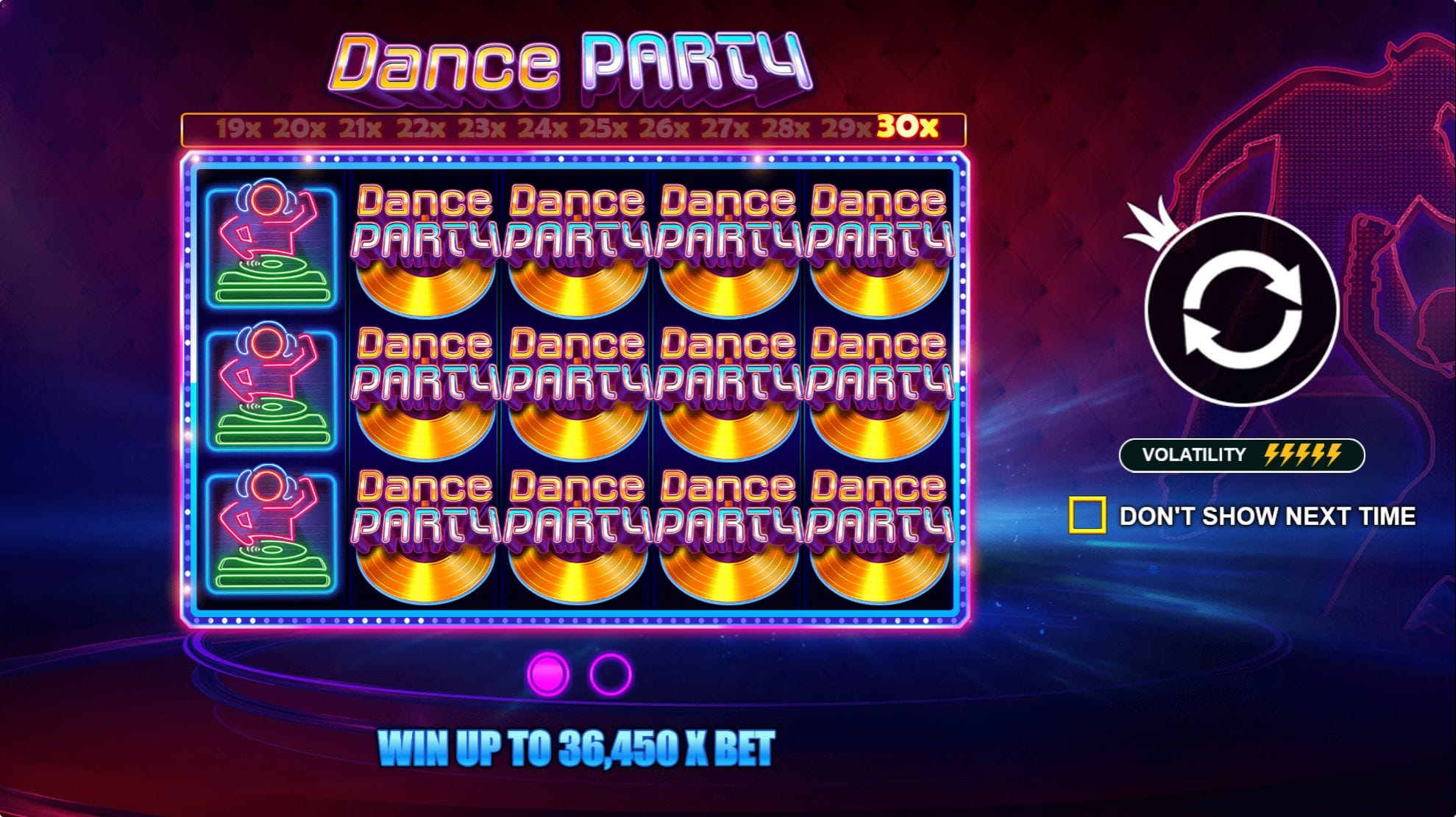 Dance Party Slot Game