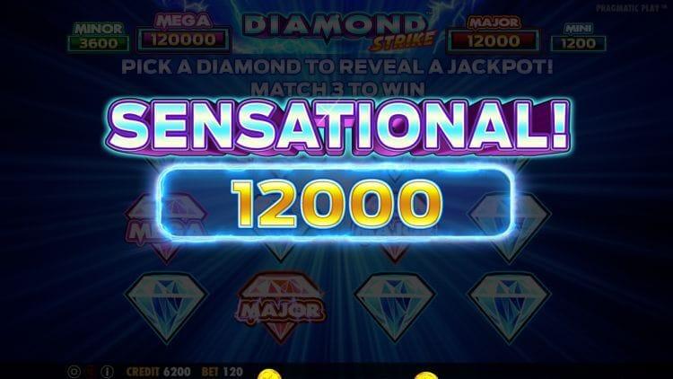 Diamond Strike Slot Bonus