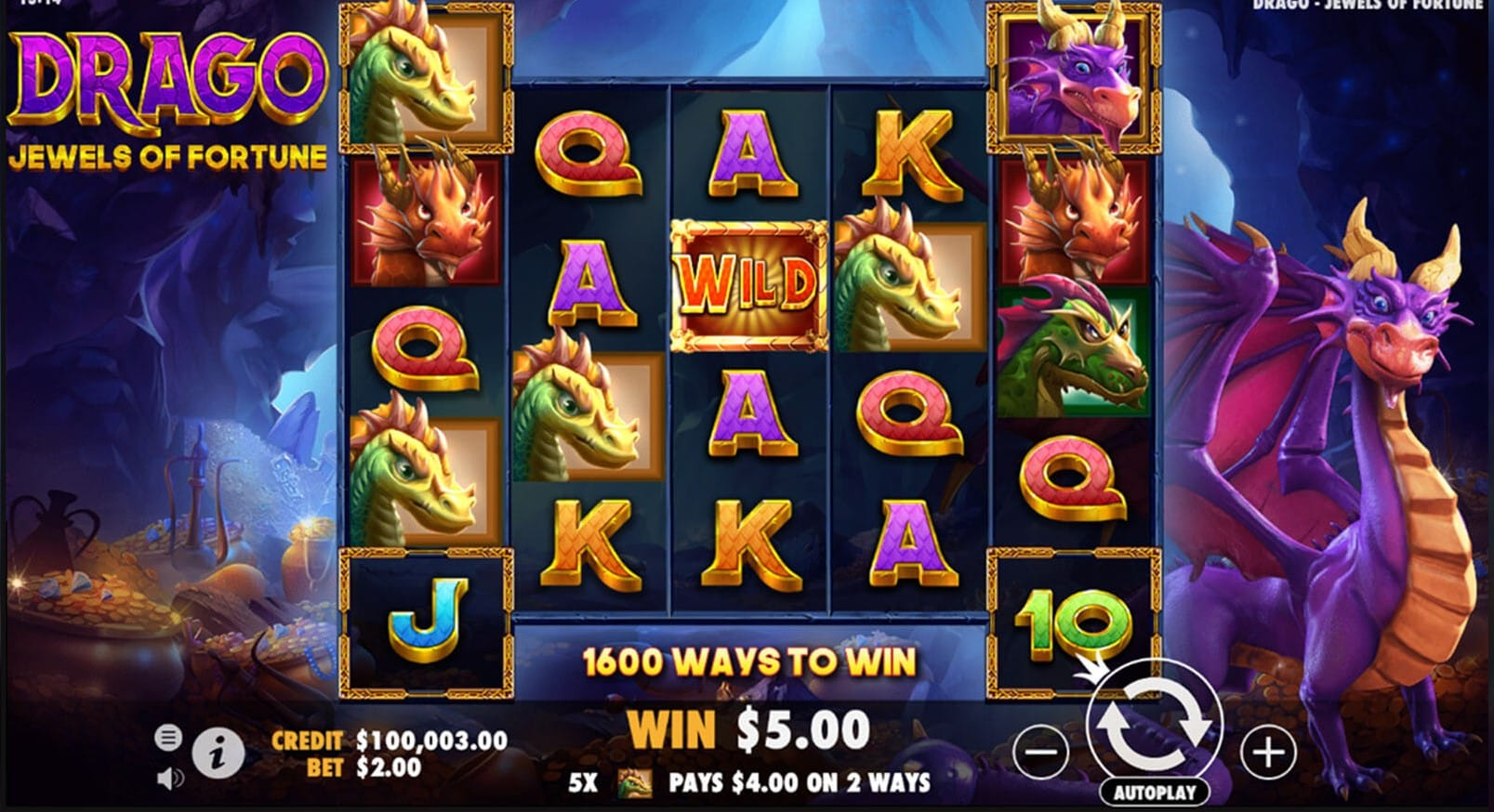 Drago Jewels of Fortune Slots UK