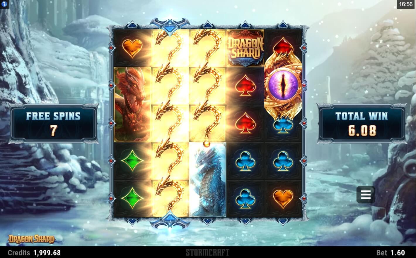 Dragon Shard Slot Gameplay
