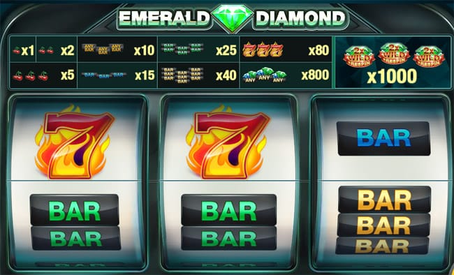 Emerald Diamond Slots