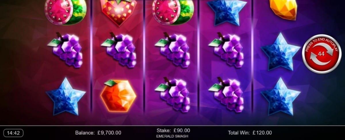 Emerald Smash Slot Gameplay