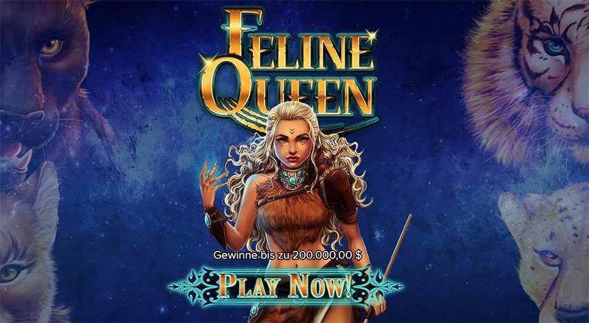 Feline Queen Slot Banner