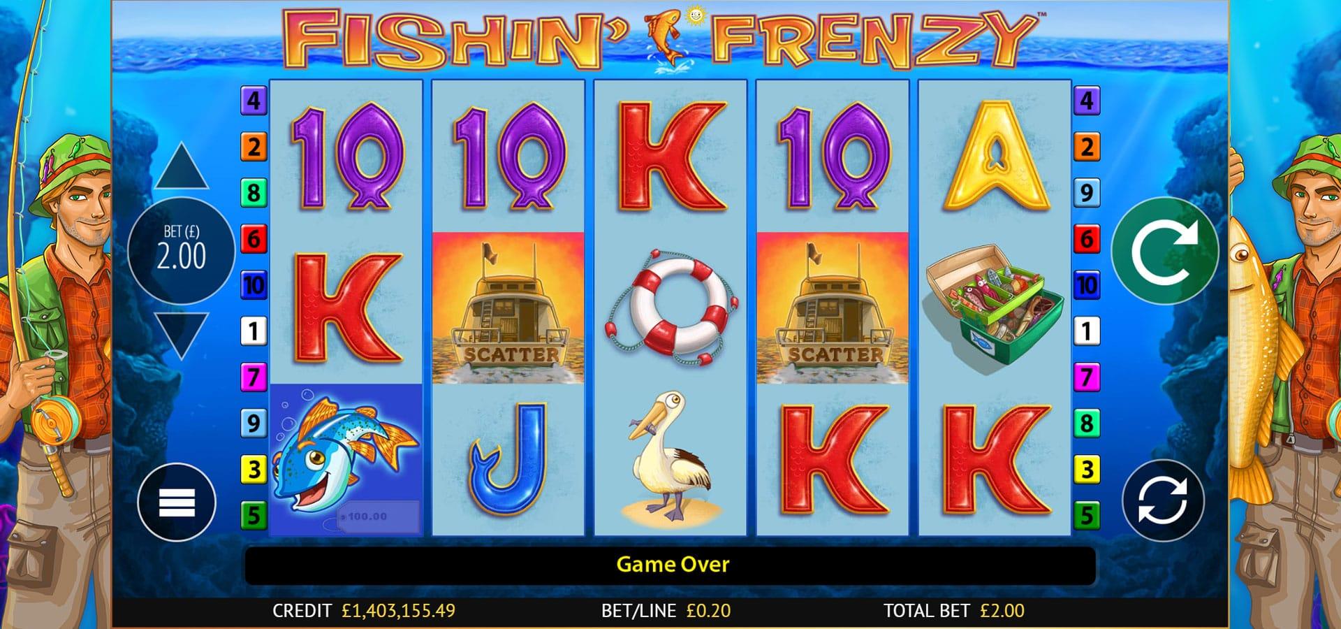 Fishin' Frenzy Free Slots