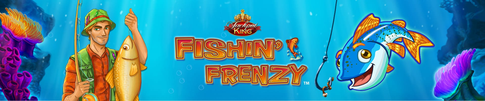 Fishin Frenzy Jackpot King Slots Mega Reel
