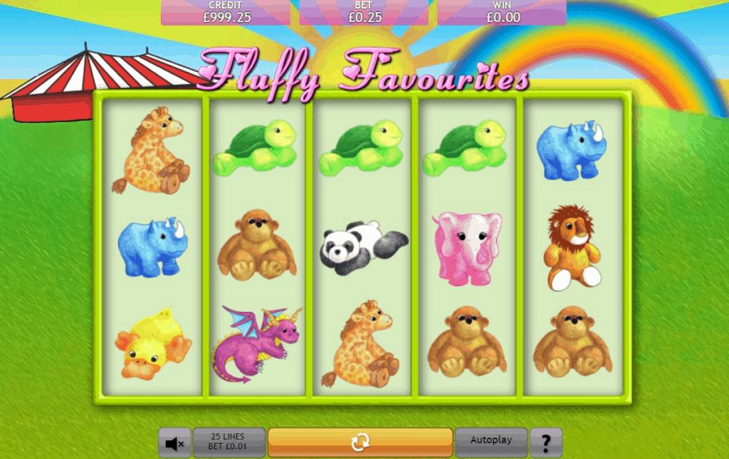 Fluffy Favourites Free Slot