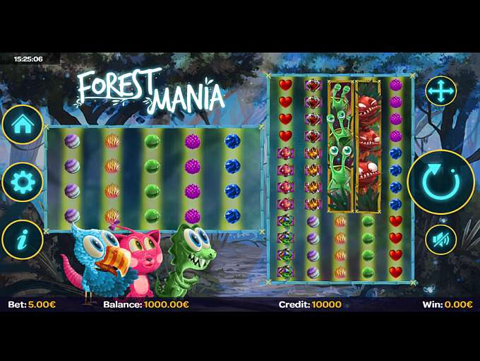 forest mania slot gameplay