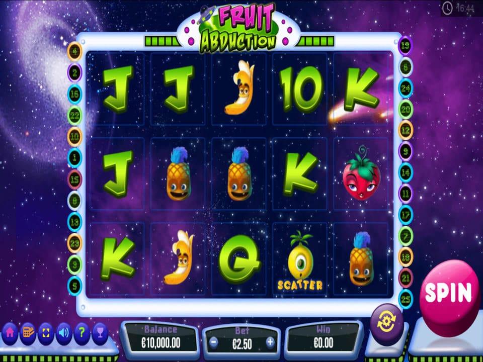 Fruit Abduction Slot Mega Reel Online