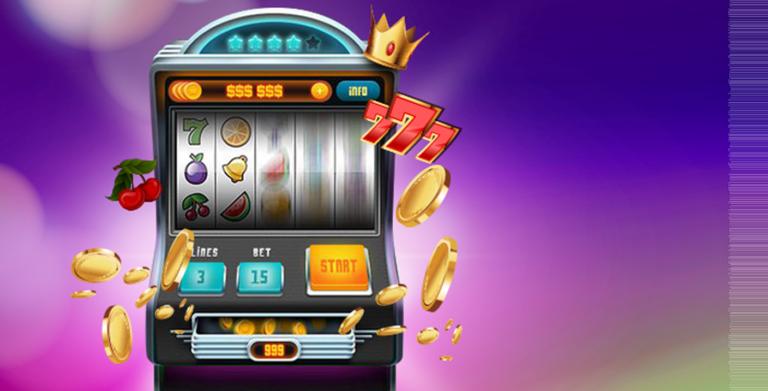 Slot machine spins